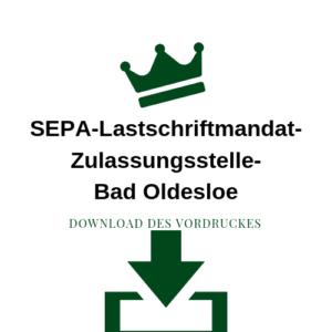 SEPA-LastschriftmandatZulassungsstelle-Bad Oldesloe