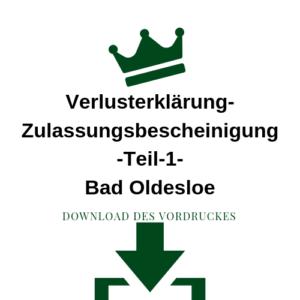 Verlusterklärung-Zulassungsbescheinigung-Teil-1-Bad Oldesloe